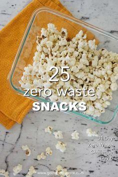 Zero Waste Snacks – Day 7 of the Zero Waste Challenge – Going Zero Waste Zero Waste Snacks – Day 7 of the Zero Waste Challenge – Going Zero Waste,Zero waste 25 zero waste. Sustainable Food, Sustainable Living, Zero Waste, Reduce Waste, Kreative Snacks, Bulk Food, Food Waste, In Season Produce, Challenges