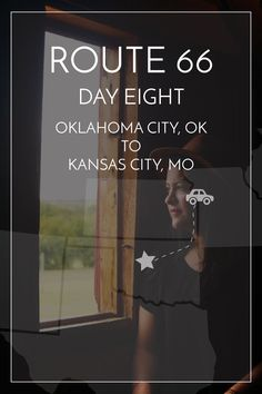 Route Day Eight — Maddily Route 66 Road Trip, Travel Route, Travel Oklahoma, Travel Trip, Road Trips, Oklahoma City National Memorial, Horse Carriage Rides, Cheap Holiday, Pacific Coast Highway