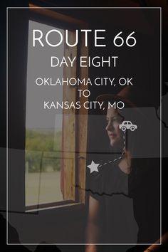 8/14 days of Route 66. Oklahoma City, OK to Kansas City, MO — #route66 #roadtrip | maddily