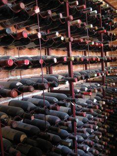 Wine cellar in Italy