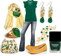 """A Walk in the Park, Anyone?"" by mama-candy ❤ liked on Polyvore"
