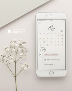 Bullet Journal Banner, Bullet Journal Ideas Pages, Bullet Journal Inspo, Whats On My Iphone, Planner Apps, Calendar App, Minimalist Bag, Planning Your Day, Event Organization