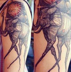 Salvador Dali elephant