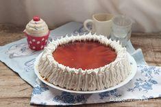 Tarta de tocino de cielo sobre bizcocho de almendras y merengue de pedro jiménez | Comer con poco
