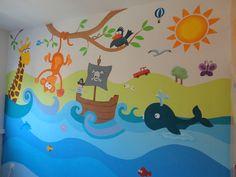 decopared: murales infantiles www.