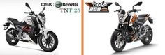 DSK Benelli TNT 25 vs KTM Duke 200