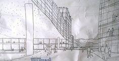 Croquis de estudio en Valparaíso mail: consultores@arqydis.cl