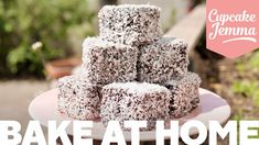 A melt in the mouth Vanilla Sponge, soaked in a rich Chocolate Icing and coated in Coconut? This recipe for Lamingtons is really fun and actually. Cake Cookies, Cupcake Cakes, Cupcakes, Lamingtons Recipe, Cupcake Jemma, Cake Recipes, Dessert Recipes, Melting In The Mouth, Vanilla Sponge