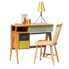 """Bureau années 50 """"Pi"""" #rienacirer #vintage #meublevintage"""