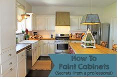 The ragged wren : How To: Paint Cabinets (Secrets From A Professional)