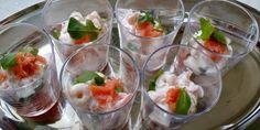 Salmon Shrimp starter #Recipe @MirabeauWine
