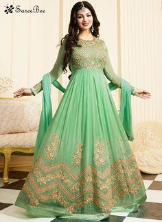 Ayesha Takia Green Floor Length Anarkali Suit  For More Information WhatsApp 7202080091 Or Visit www.SareeBe.com  #red  #designer  #instagram  #kurti  #fashionista  #makeup  #delhi  #outfitoftheday  #women-fashion  #myfirststory  #model  #indian  #saree  #ramadanmubarak  #trendy  #ethnic  #picoftheday  #menonroposo  #roposolove  #cool  #firstpost  #soroposo  #summer-style  #streetstyle  #summer  #newdp  #beauty  #traveldiaries  #styles  #youtuber  #bestSeller