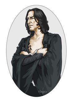 One of my favourite Severus Snape, by Marquise