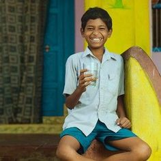 We're well on our way to bringing clean water to 100 villages in Orissa, India. This photo says exactly what it needs to… http://itz-my.com
