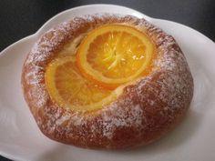 Orange danish