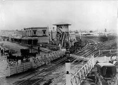 Melbourne,Victoria in 1870.A♥W