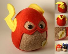 The Flash Plushie by ~Saint-Angel on deviantART