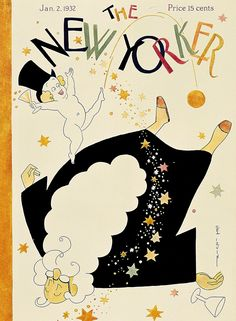 The New Yorker January 2, 1932  Cover Art - Rea Irvin 941×1280 пикс