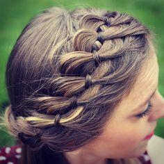 Christmas Hairstyles , Christmas braids