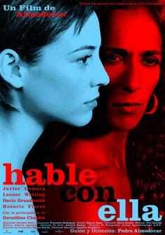 Hable con ella (Talk to Her) (Spain, 2002). Poster design: Juan Gatti.