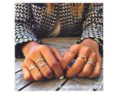 Orbit Rose Gold Ring
