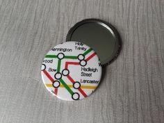 London Underground Pocket Mirror  £3.00