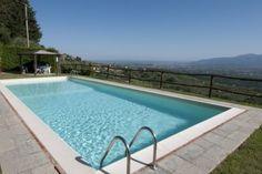 The private pool of Casa Uva.