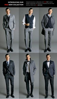 "Banana Republic ""Mad Men"" collection. This needs to happen again."