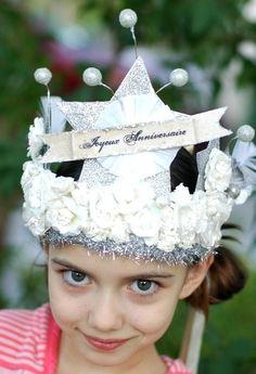 French birthday crown.
