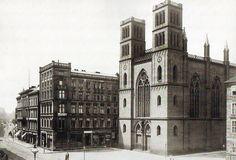 Albert Schwartz, Friedrichs-Werdersche Kirche, 1881.