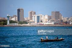 Photo : View of Dakar from Goree island ferry, Dakar, Senegal, Africa