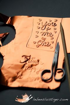 Craft Tutorials Galore at Crafter-holic!: Copper Tags & Ornaments