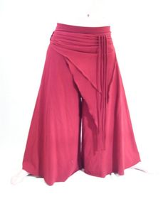 trouser skirt for yoga & dancing (and generally being a hippie)