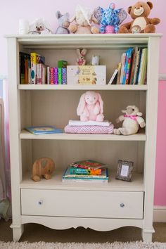 Custom bedroom designed by Baby Belle for Baby Isabella Bookshelves, Bookcase, Beautiful Babies, Nursery, Interior, Baby, Furniture, Design, Home Decor