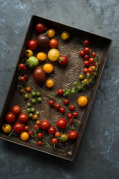 Spoonful: Garden gifts: Heirloom tomatoes and a special tomato tart