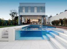 Transparent pool.