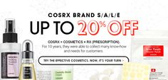 #COSRX Brand Sale Up to 20% Off  by #wishtrend
