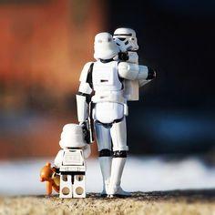Storm trooper lego family
