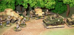 Miniatures from Artizan Design and Bolt Action 28mm Miniatures, Military Vehicles, Places To Visit, Action, Crafts, Inspiration, Design, Biblical Inspiration, Group Action