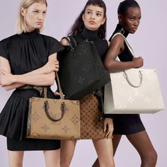 LOUIS VUITTON Official USA Website - Reminiscent of the famous Louis Vuitton Sac Plat, an iconic shape initially launched in the Onthego tote bag now comes in medium size and Monogram Empreinte leather. Celebrity Travel, Usa Website, Must Haves, Latest Fashion, Dior, Product Launch, Monogram, Tote Bag, Celebrities
