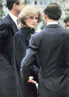 May 20, 1984: Prince Charles and Princess Diana at the Royal Horticultural Society's 63rd annual Chelsea Flower Show, London.