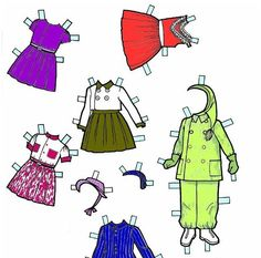 Popierinės lėlės - Margarita Juzėnienė - Picasa Webalbum * free paper dolls 1500 international artist Arielle Gabriel's The International Paper Doll Society for paper dolls pals at Pinterest *