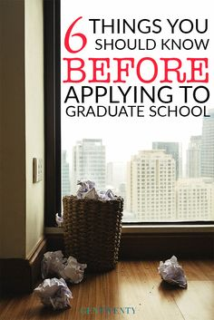 Applying to graduate school? Here are six incredible tips to strengthen your application and earn an acceptance to the school of your dreams.