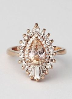Featured Ring: Heidi Gibson Designs; Engagement ring idea;