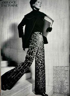 leopard print 1970s