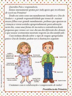 As Tontas Vão Ao Céu: Carta para Pais da Primária - Sobre Padrões de Ves...