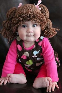 Cabbage Patch Hat - I must get this pattern!