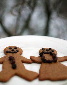 Paleo Christmas Cookies: Grain-Free Gingerbread Men - The Food Lovers Kitchen