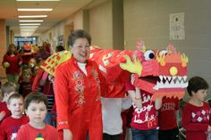 simpel Students Celebrate Chinese New Year with Dragon Parade « Lindbergh Schools