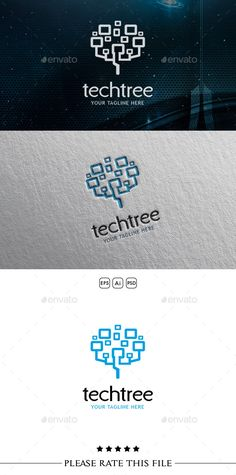 Tree Logo — Photoshop PSD #startup #developer • Available here → https://graphicriver.net/item/tree-logo/10699332?ref=pxcr